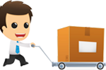 cartoon-salesman-envelope-trolley-small