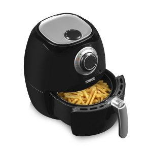 Tower T17005 Air Fryer, Rapid Air Circulation System, 1350 Watt, Black
