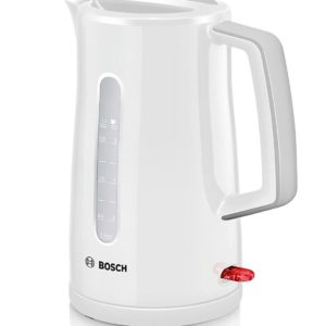 Bosch TWK3A031GB Cordless Fast Boil Kettle Jug in White Finish (1.7L)